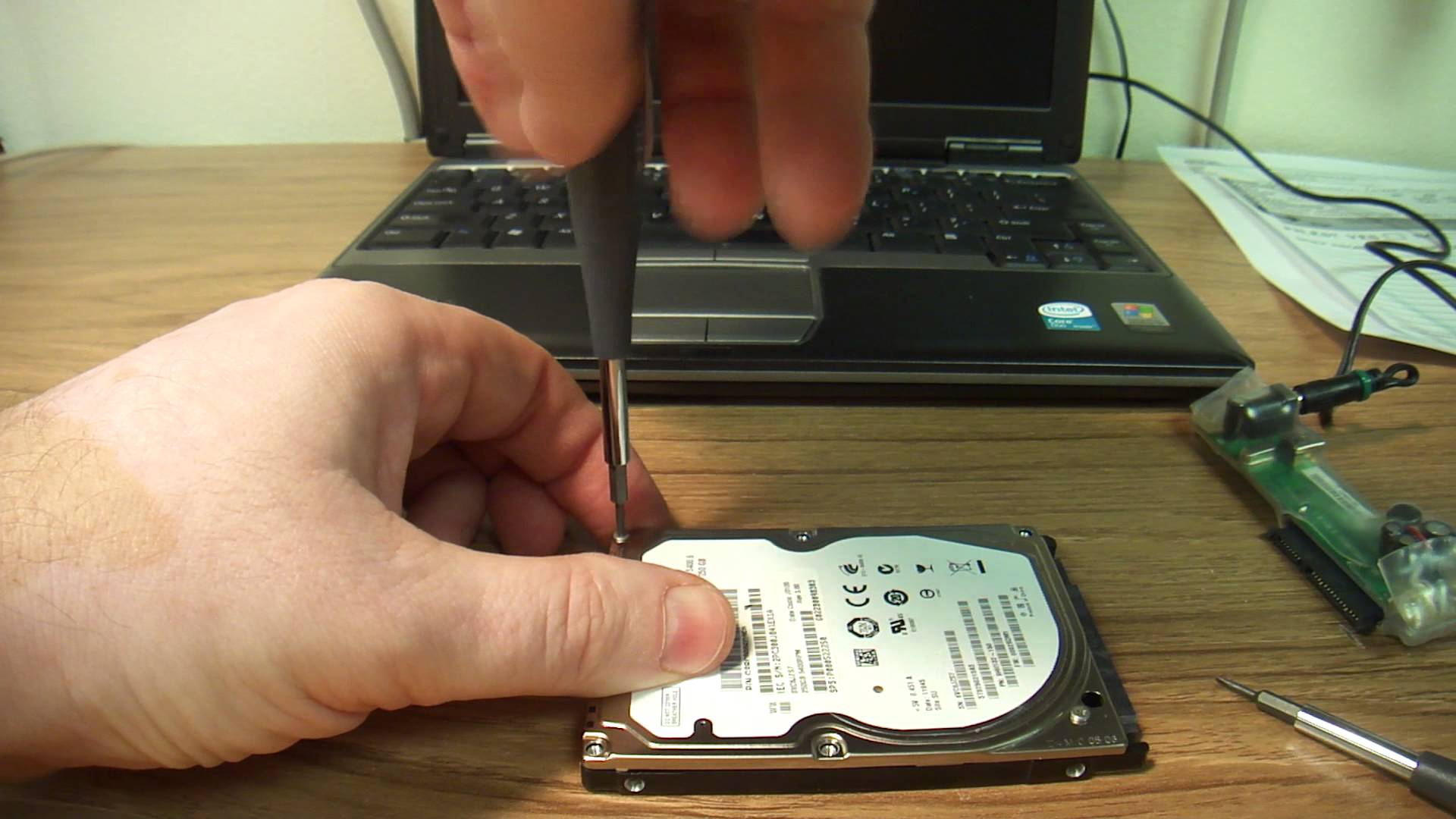 laptops and desktops hard drive recovery